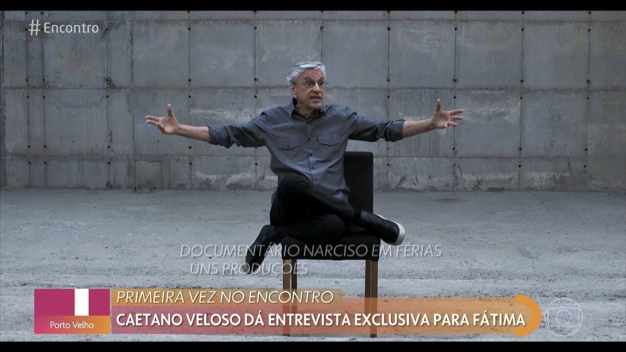 Caetano Veloso completa 78 anos hoje