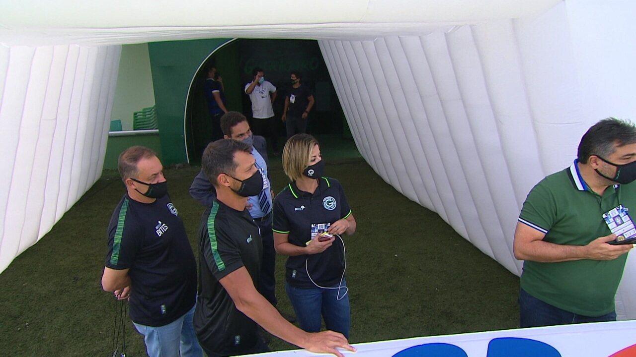 STJD acata pedido do Goiás e jogo contra o São Paulo é suspenso