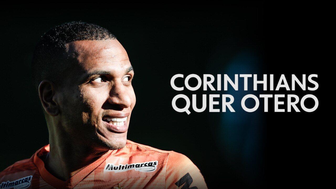 Corinthians abre negociação com o Atlético-MG por Otero