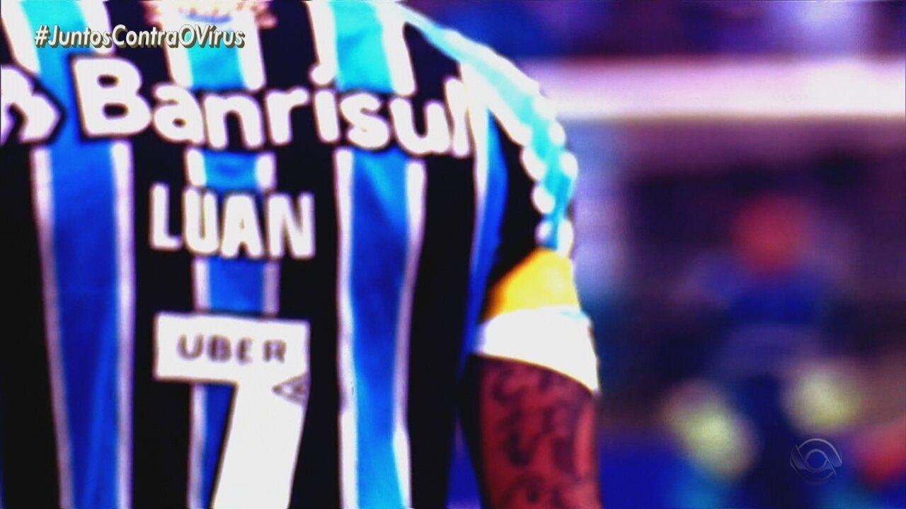 Luan reencontra o Grêmio neste sábado