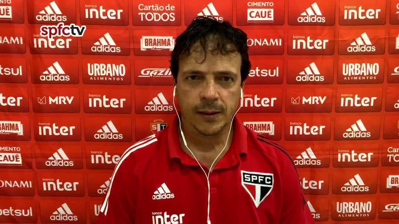 Confira a coletiva do Fernando Diniz, após partida do São Paulo contra o Sport