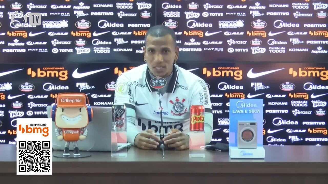 Assista à entrevista de Otero na apresentação ao Corinthians