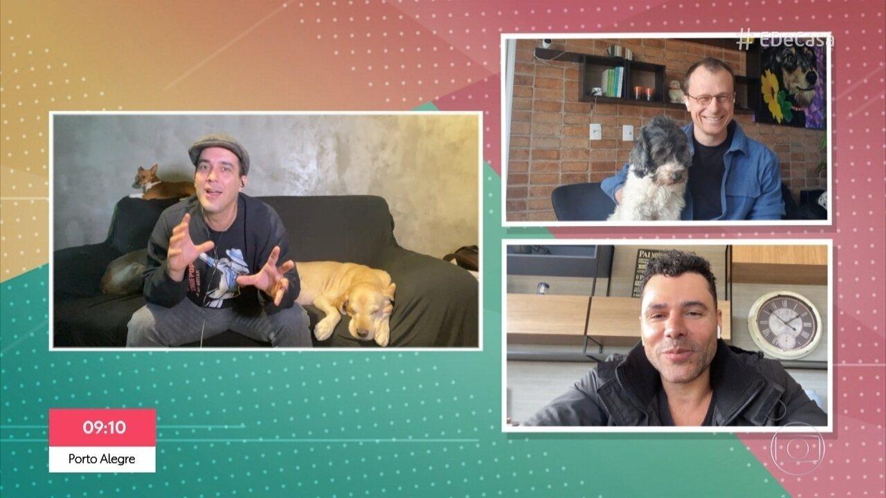 Alexandre Rossi dá dicas para boa convivência entre cães e gatos