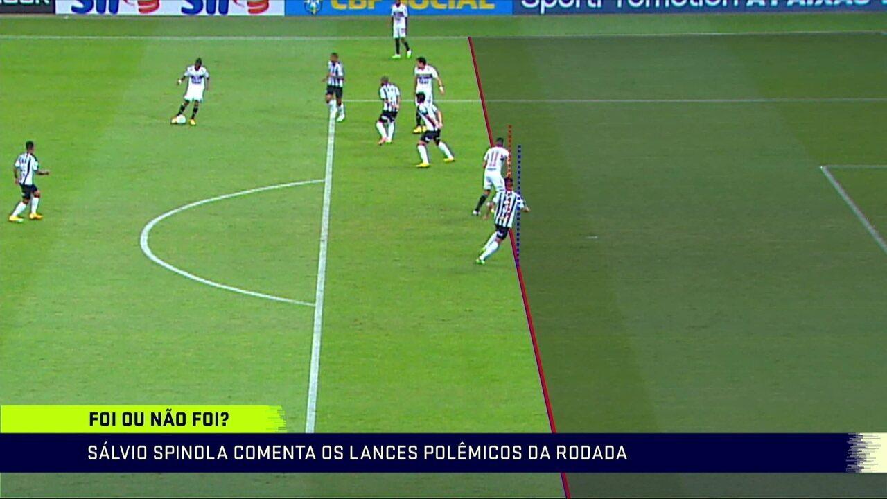 """Sálvio Spinola comenta gol anulado pelo VAR em São Paulo x Atlético-MG: """"Tenho plena sensação de mesma linha"""""""