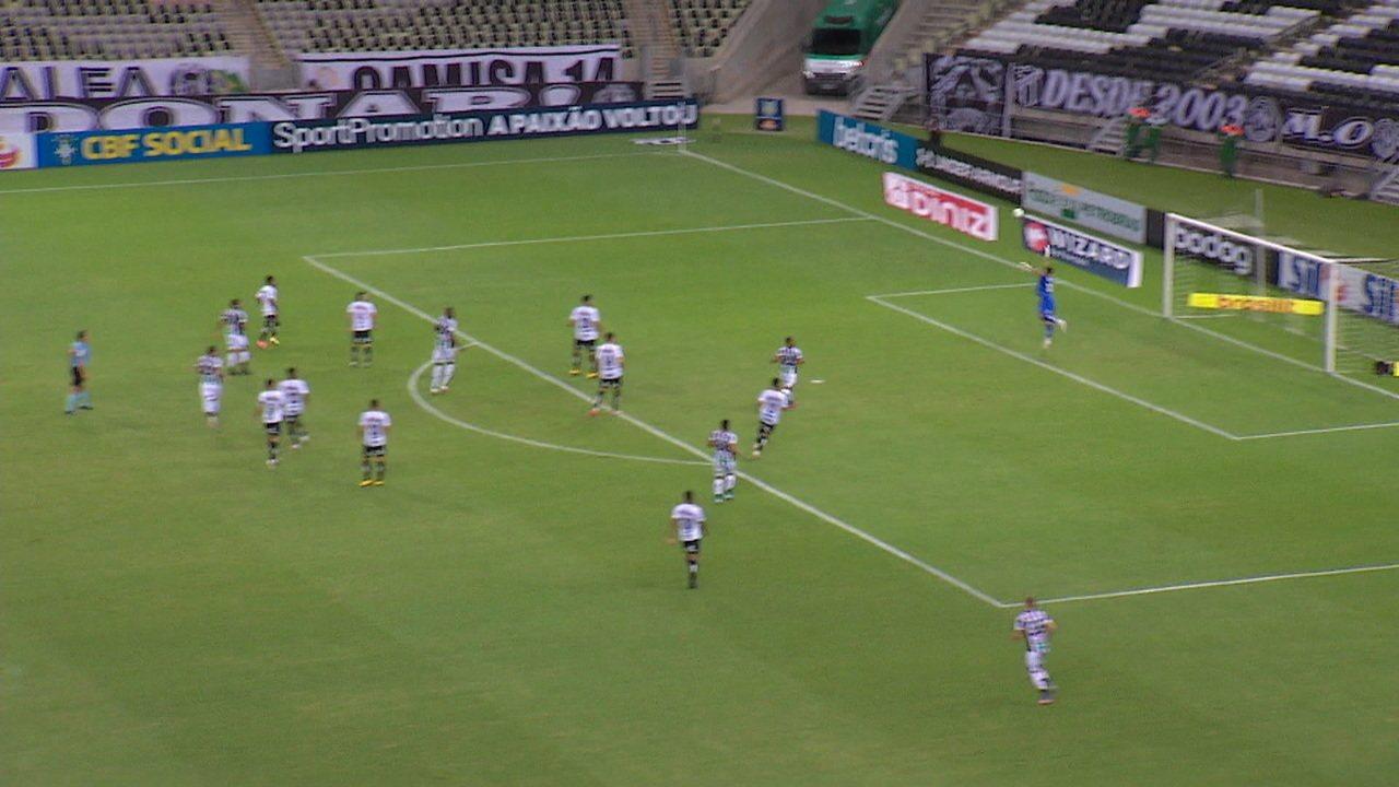 Veja os melhores momentos de Ceará 0 x 1 Santos