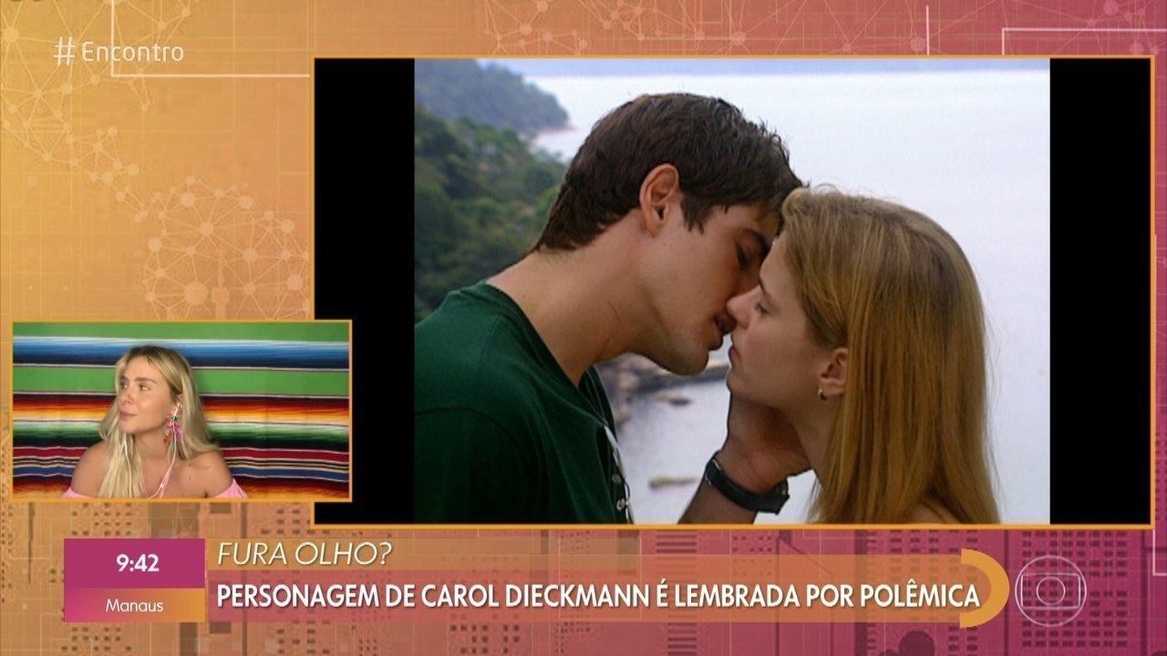 Camila ficou com namorado da mãe em 'Laços de Família'