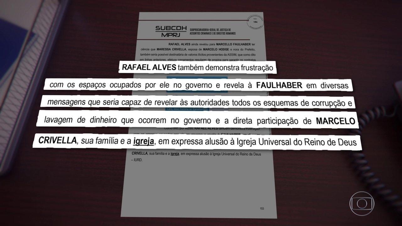 Igreja Universal foi usada para lavar dinheiro de corrupção da Prefeitura do Rio, diz MP