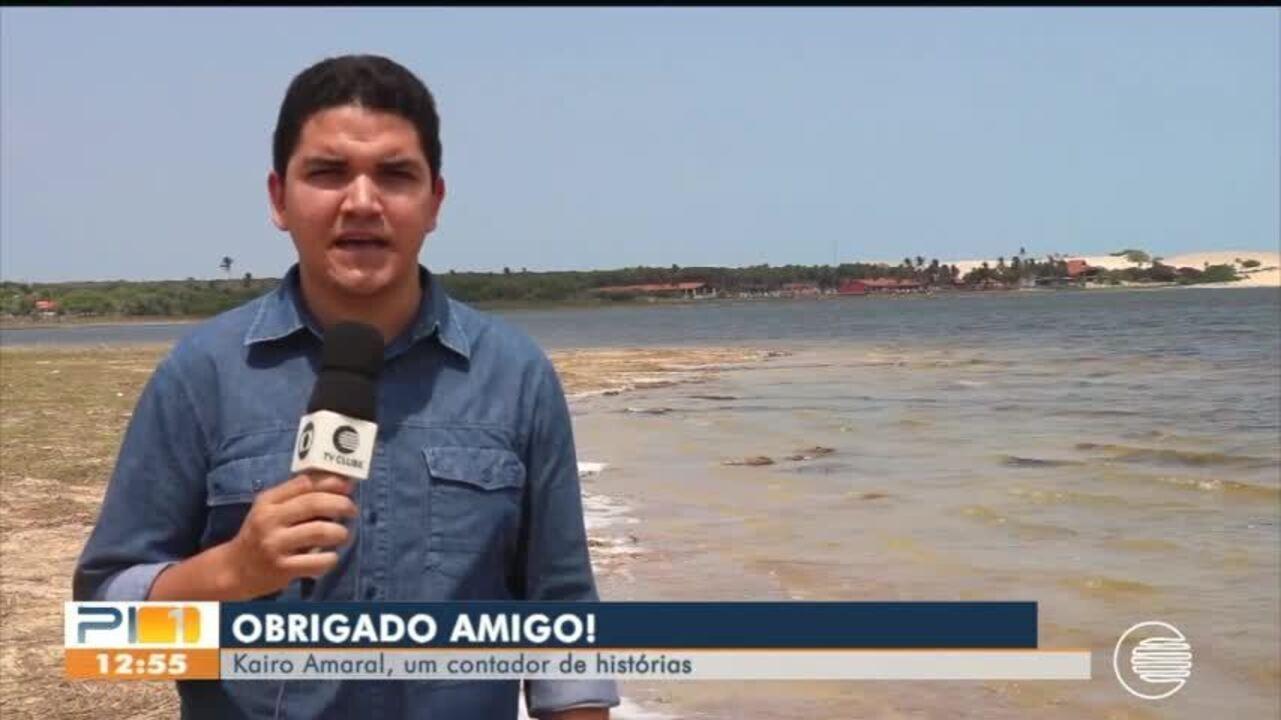 Kairo Amaral, repórter da Rede Clube, morre aos 24 anos