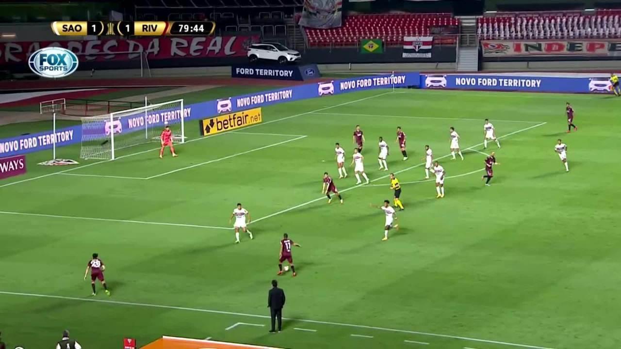 Melhores momentos: São Paulo 2 x 2 River Plate pela 3ª rodada da Taça Libertadores