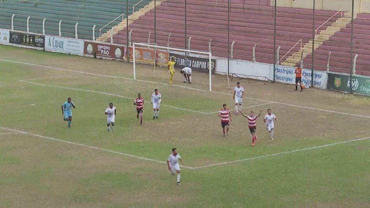 Veja lances de Barretos 0 x 4 Linense, pela Série A3 do Campeonato Paulista