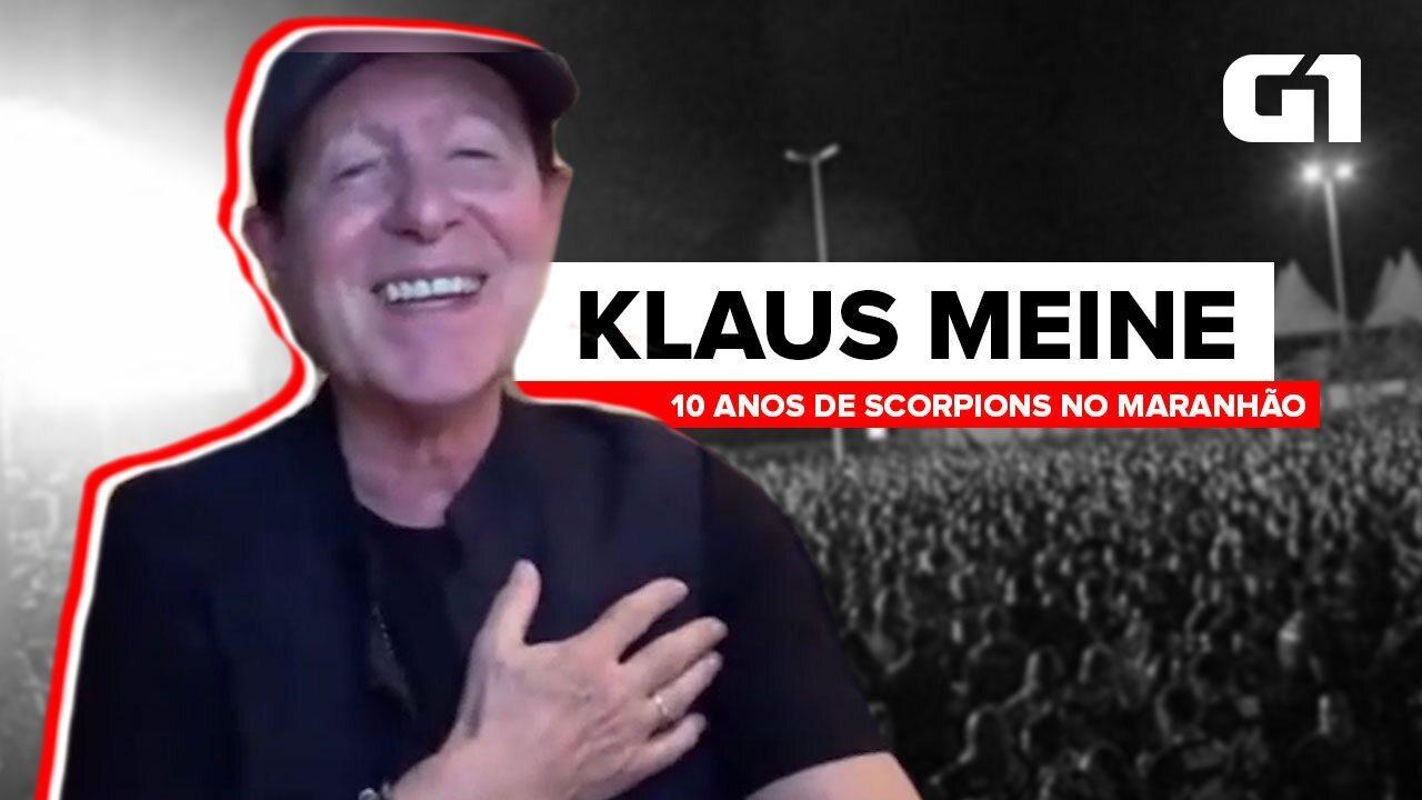 EXCLUSIVO: Klaus Meine, do Scorpions, fala sobre os 10 anos do show em São Luís