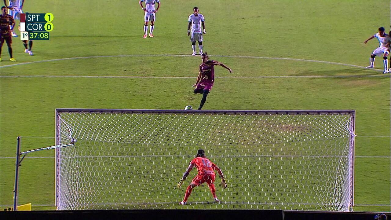 Os melhores momentos de Sport 1 x 0 Corinthians, pela 12ª rodada do Brasileirāo