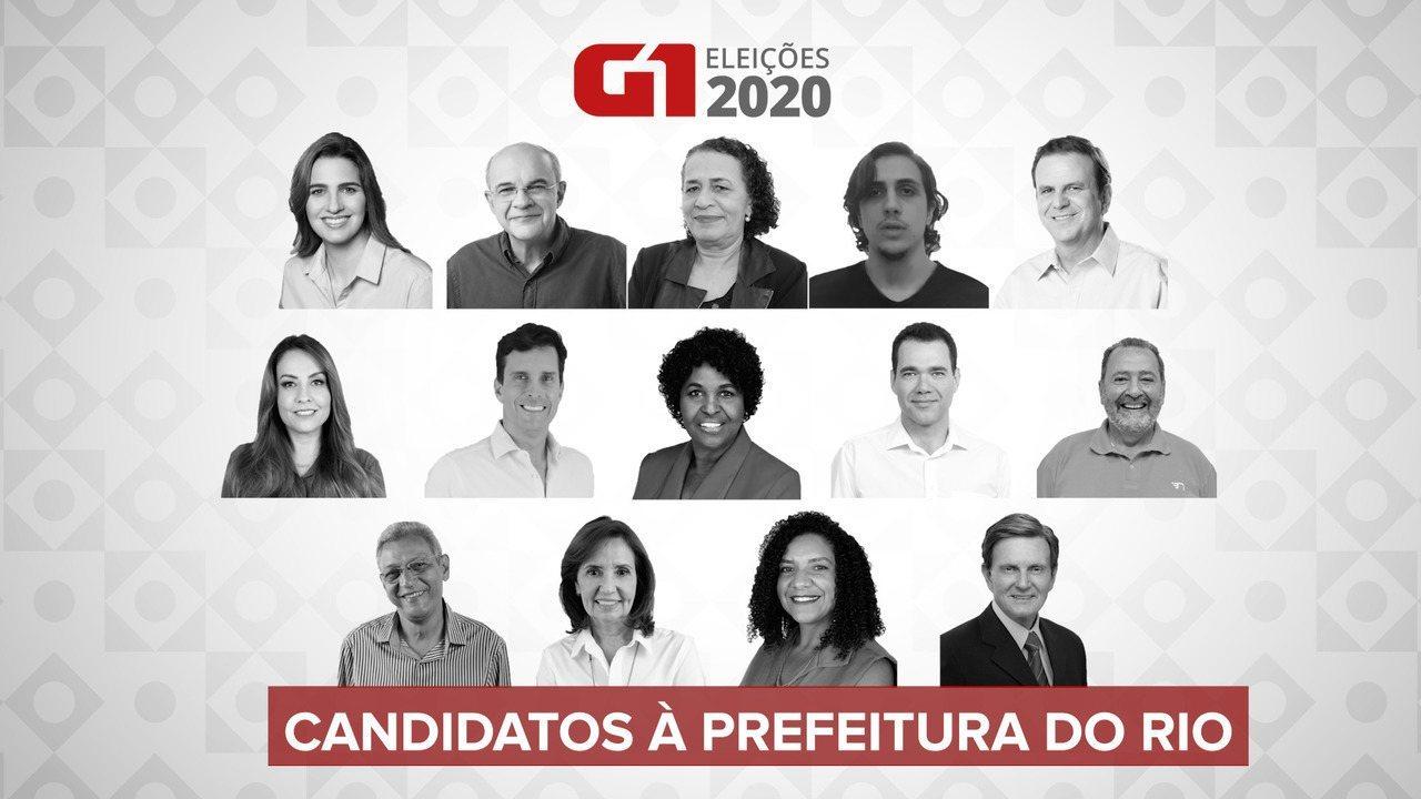 Veja quem são os candidatos à prefeitura do Rio nas eleições 2020