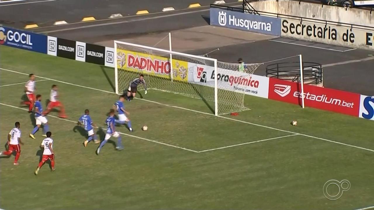 São Bento sai na frente, mas cede empate ao Boa Esporte
