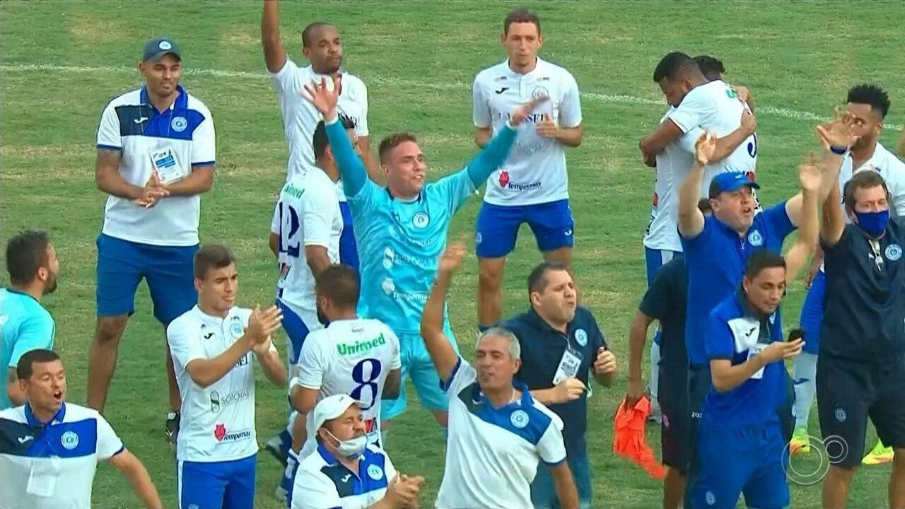 São Bento perde para o São Bernardo, mas garante vaga na final da Série A2