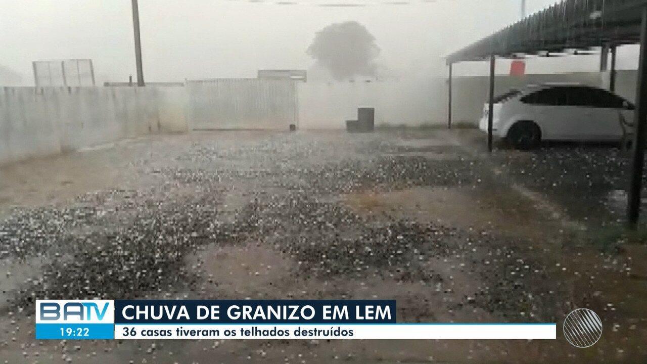 BATV – Salvador | Chuva de granizo causa prejuízos em Luís Eduardo Magalhães,  na região oeste | Globoplay