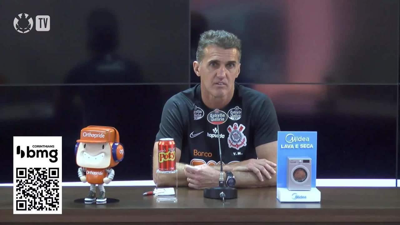 Confira a coletiva de apresentação de Vagner Mancini no Corinthians