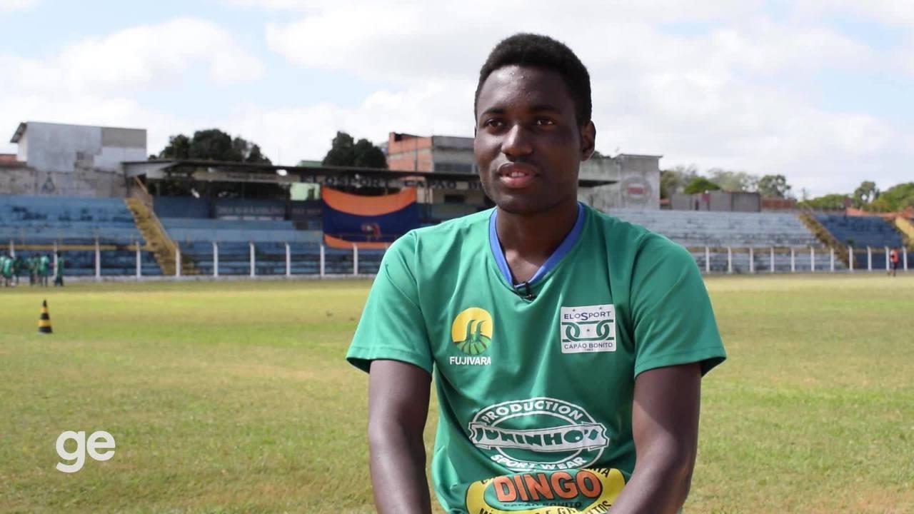 Camaronês jogará a 4ª divisão de SP por refúgio no Brasil
