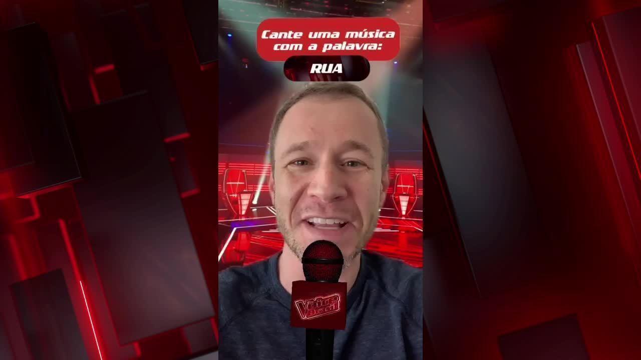 Tiago Leifert ensina a usar filtro do 'The Voice' nas redes sociais