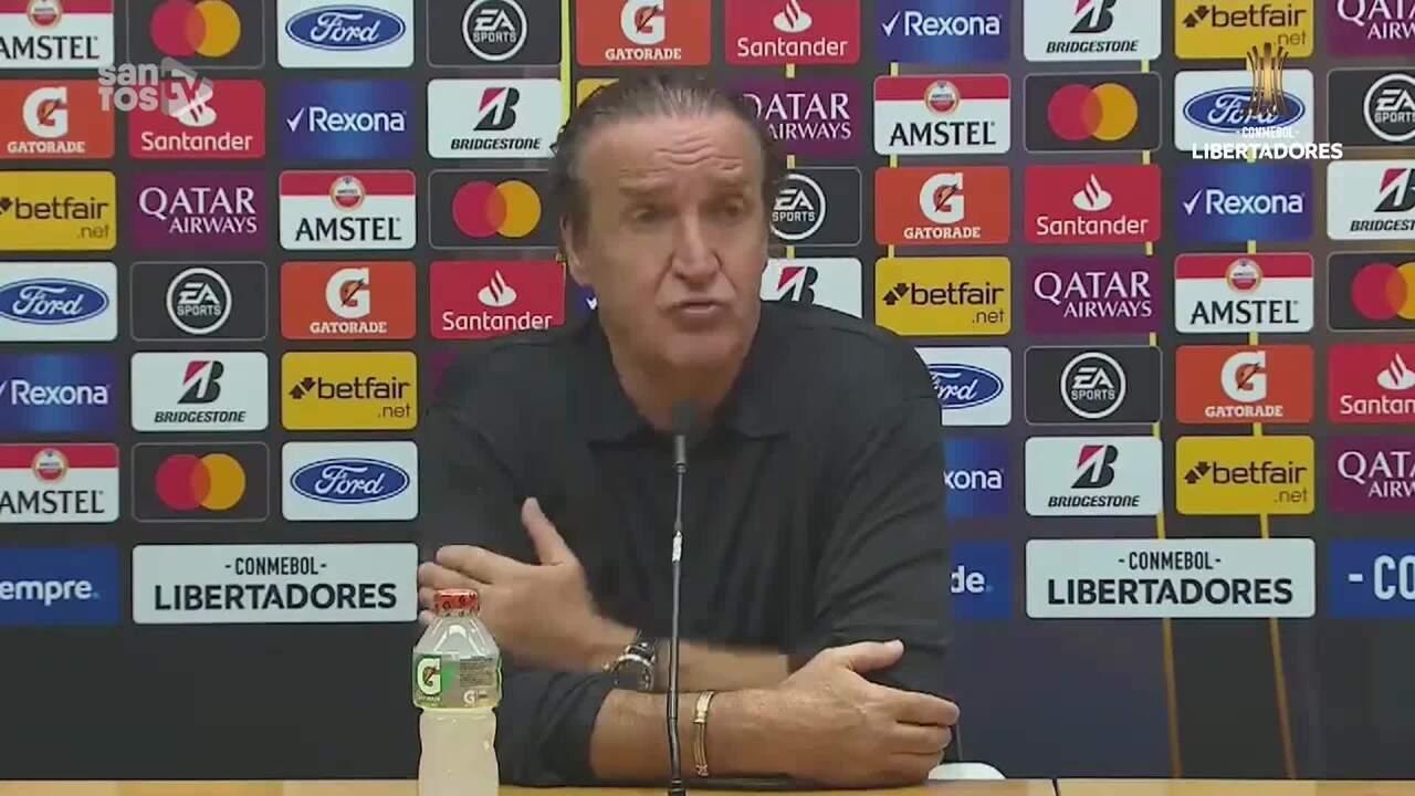 Confira e entrevista de Cuca após vitória e classificação do Santos na Libertadores