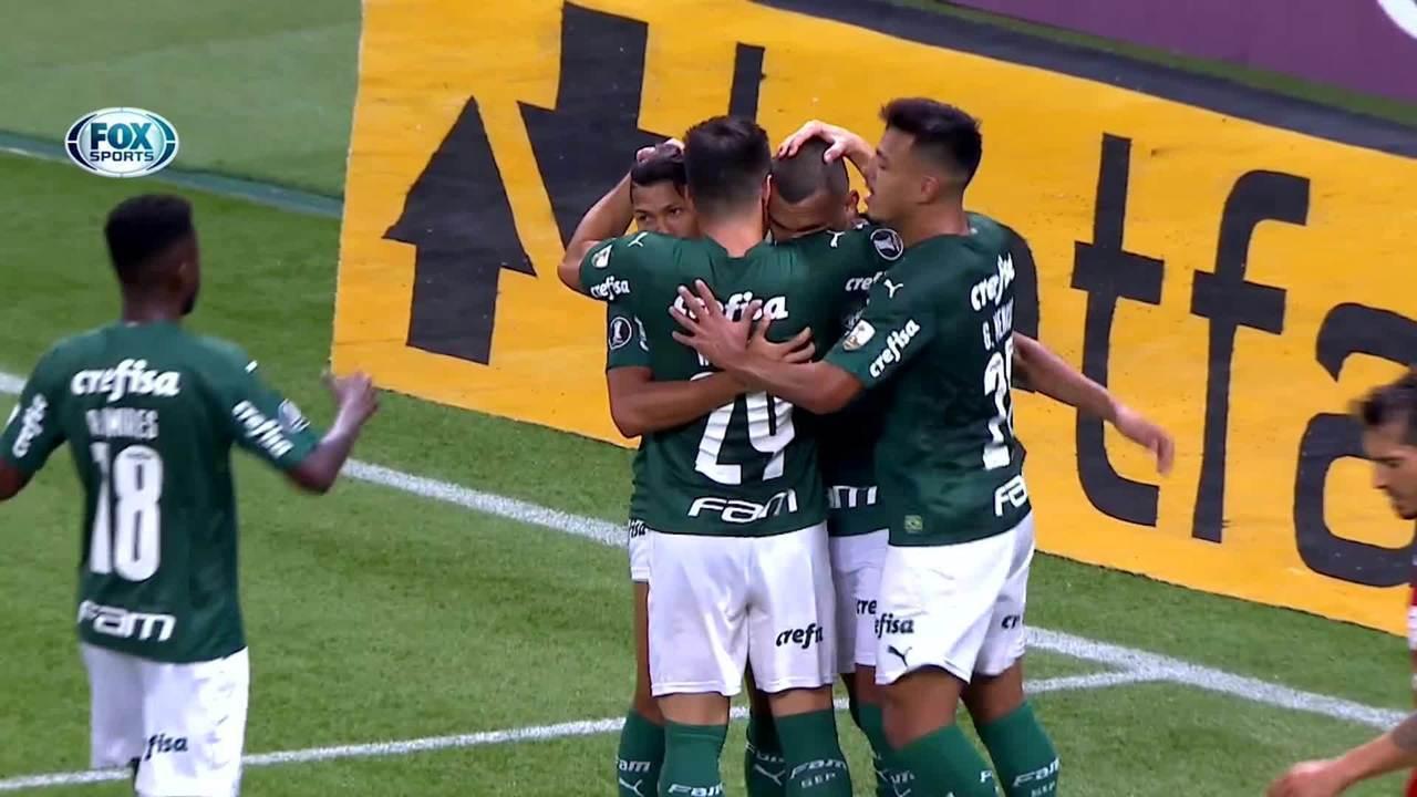 Os gols de Palmeiras 5 x 0 Tigre-ARG pela Taça Libertadores