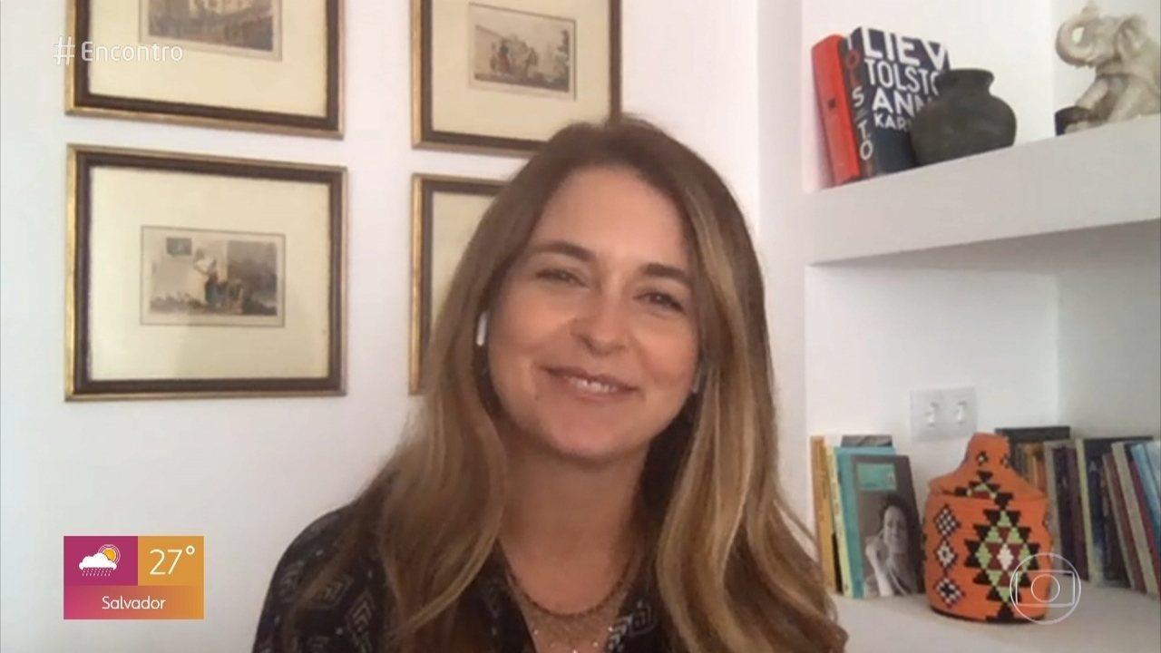 Claudia Abreu fala sobre momentos marcantes de sua carreira no '#TBT do Encontro'