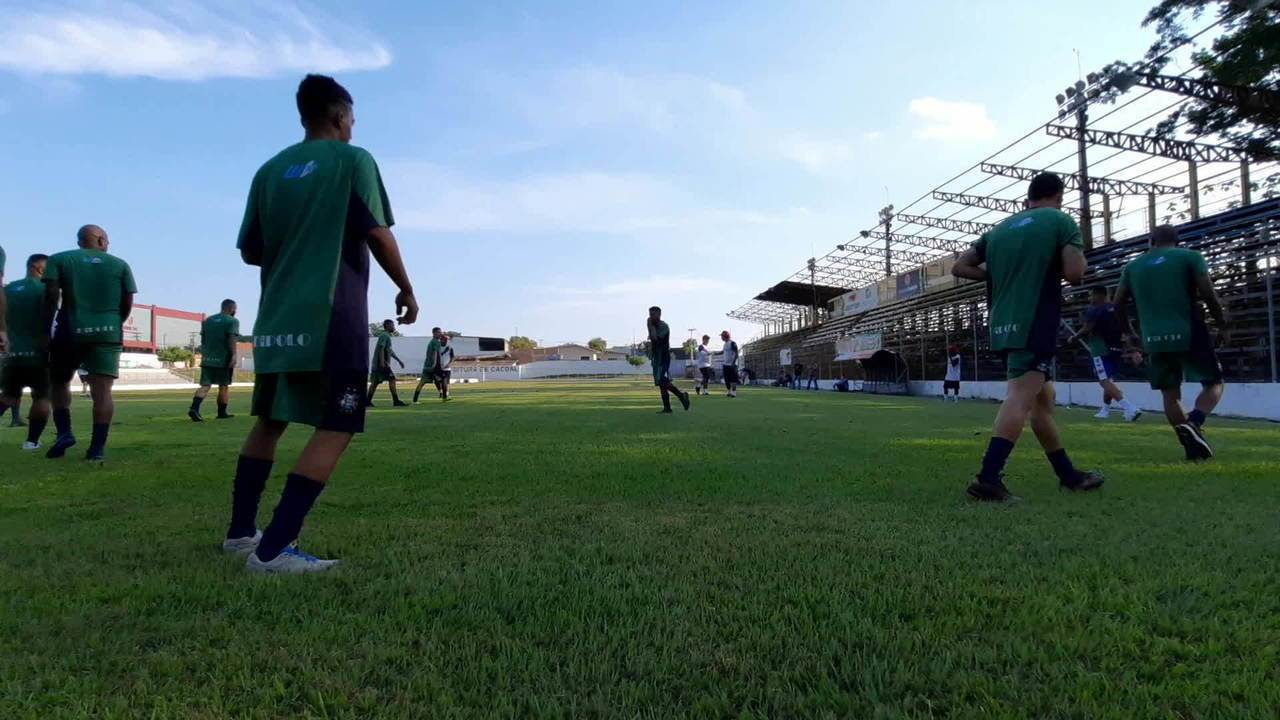 União Cacoalense volta aos treinos, depois de sete meses de paralisação