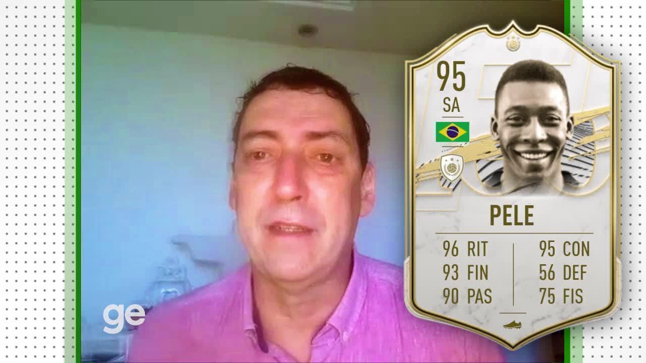 No aniversário do Rei, PVC analisa as cartinhas de Pelé no FIFA 21