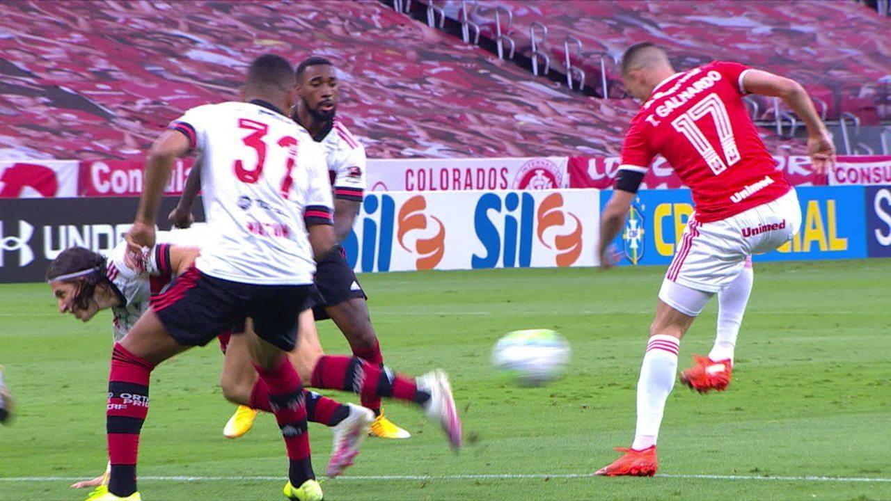 Melhores momentos: Internacional 2 x 2 Flamengo pela 18ª rodada do Brasileirão 2020