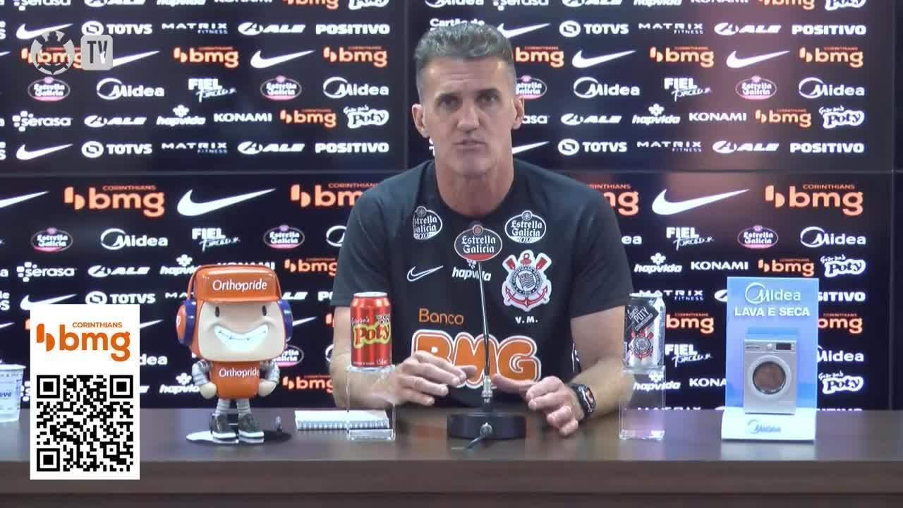 Veja a entrevista do técnico Vagner Mancini, do Corinthians, nesta terça-feira