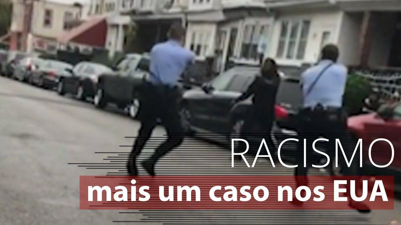 Vídeo mostra momento em que negro com problemas mentais é morto por policias nos EUA