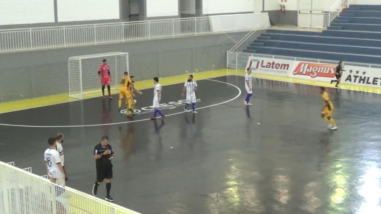 Sorocaba goleia o Praia Grande e permanece na liderança do Paulista de futsal
