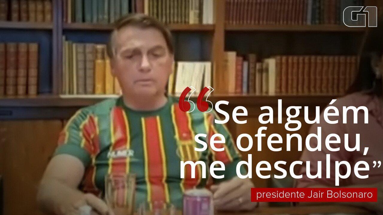 Bolsonaro se desculpa por fala no MA; veja momentos em que presidente se desculpou