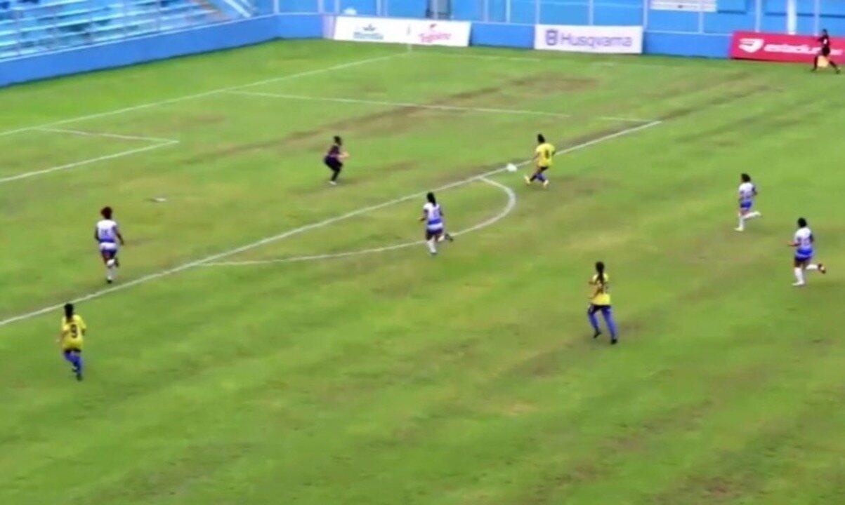 Os gols de Esmac 3 x 5 Tiradentes-PI pela rodada 5 da Série A2 do Brasileiro feminino