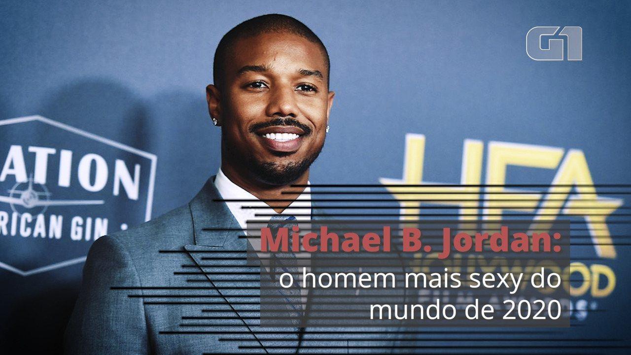 Michael B. Jordan é eleito o homem mais sexy do mundo de 2020 pela revista 'People
