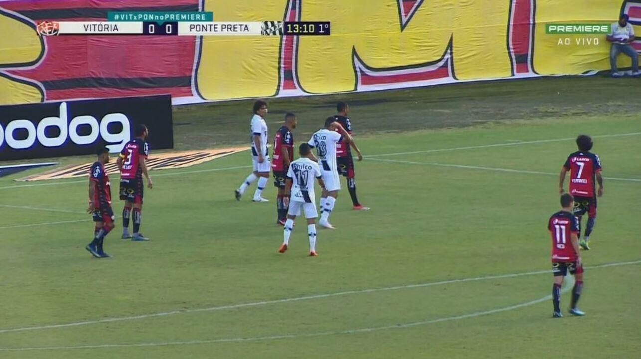 Os melhores momentos de Vitória 0 x 0 Ponte Preta, 22ª rodada da Série B