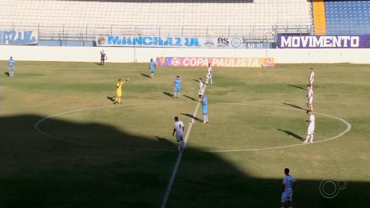 Marília vence o Novorizontino, se classifica e assume liderança do grupo na Copa Paulista