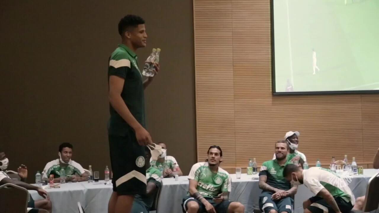 Veja como foi o trote aos garotos do Palmeiras no Equador