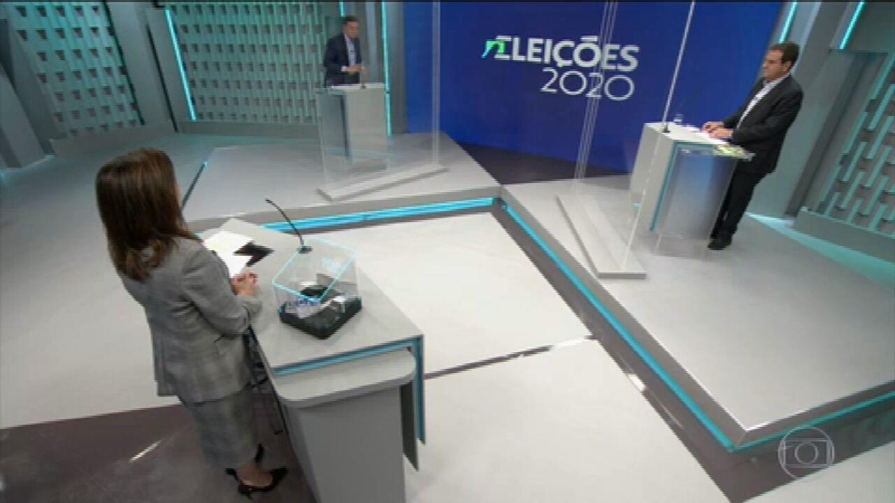 VÍDEO: Debate Eleitoral 2020 - Rio de Janeiro - Segundo bloco