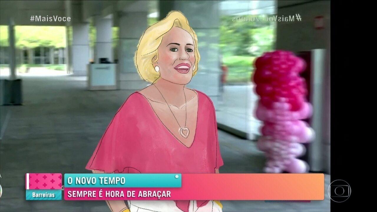 O abraço da esperança: 'Mais Você' mostra trecho da mensagem de fim de ano da Globo