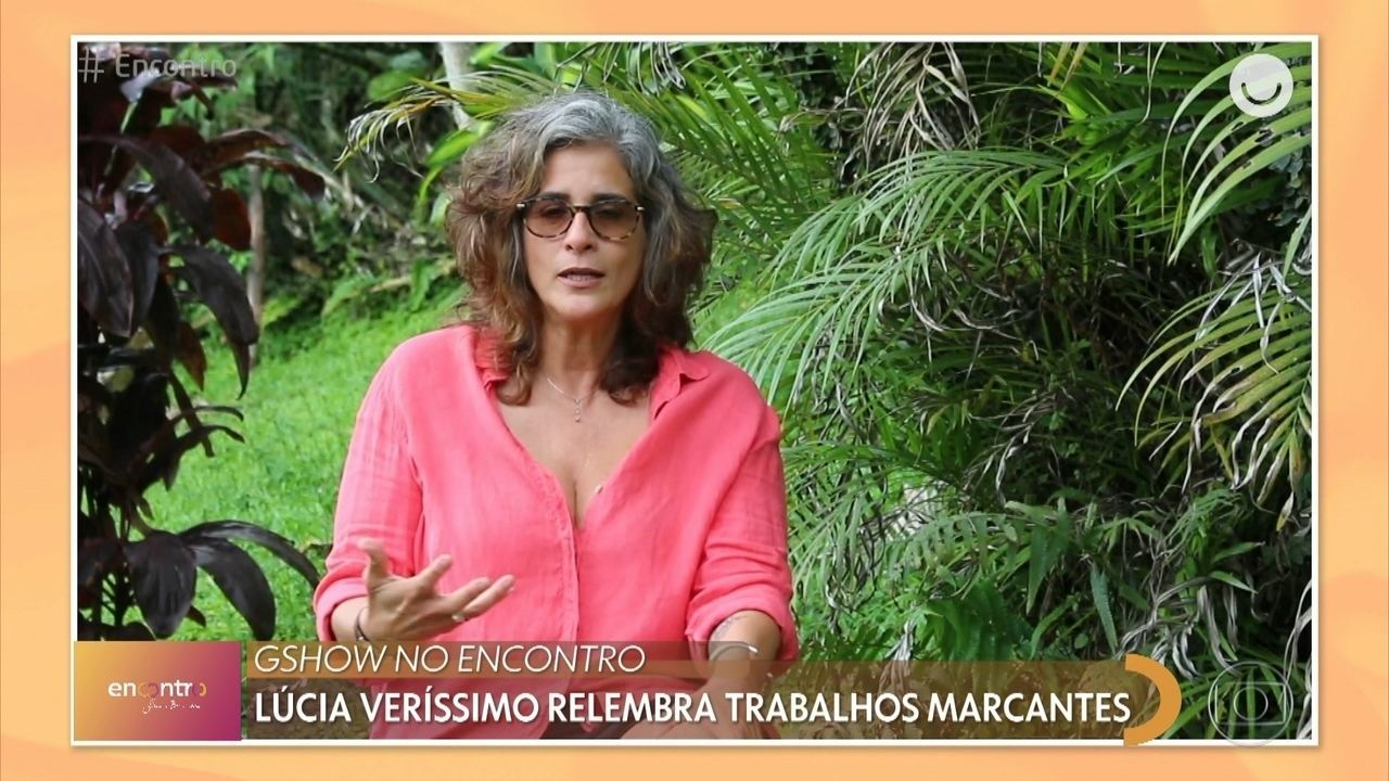 Lúcia Veríssimo relembra trabalhos marcantes