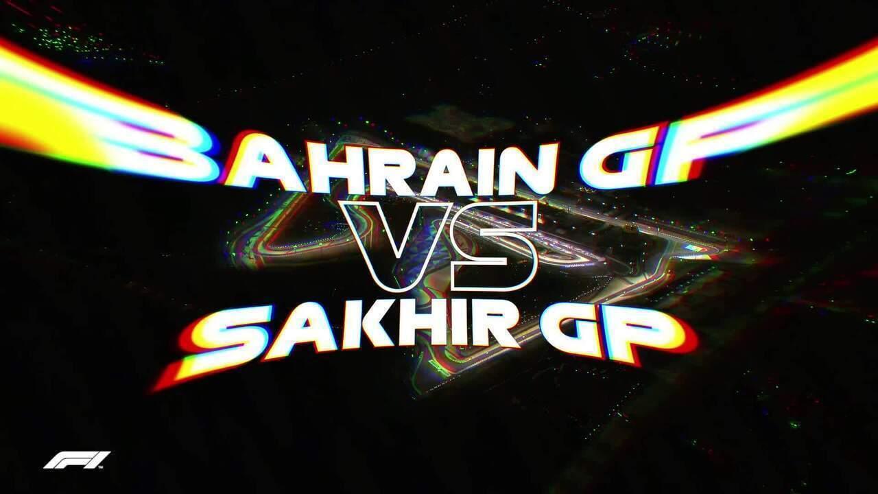 Informações do GP de Sakhir em comparação ao GP do Barein