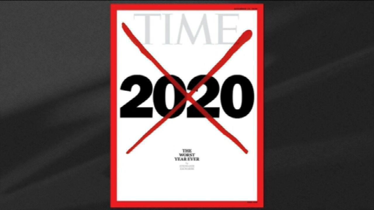 Revista Time descreve 2020 como 'o pior ano de todos' devido à pandemia