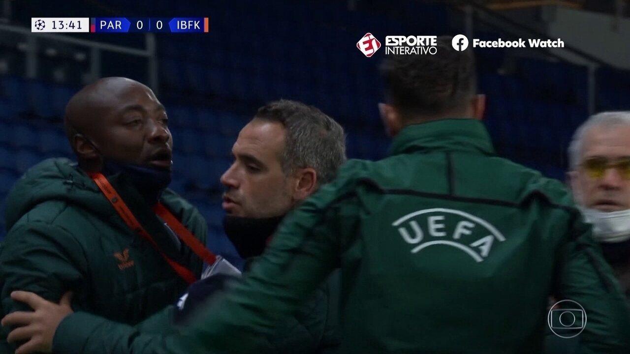 Na França, jogadores se recusam a seguir em campo após ato de racismo