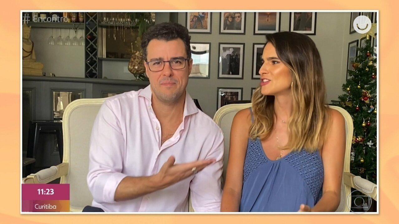 Joaquim Lopes e Marcella Fogaça falam sobre espera pelas filhas gêmeas