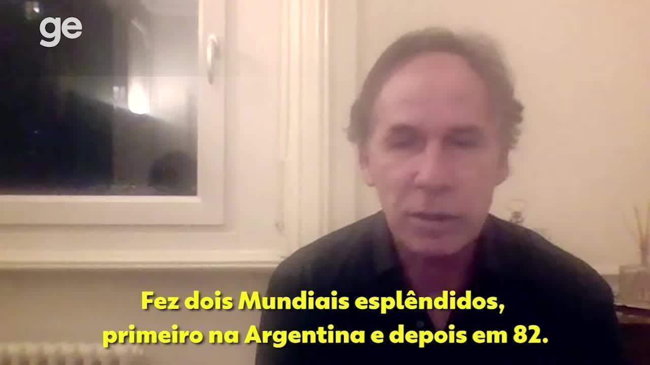 Franco Baresi, ex-zagueiro da Itália, fala sobre a importância de Paolo Rossi