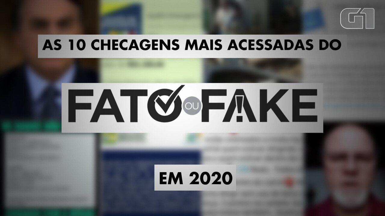 Fato ou Fake: Retrospectiva 2020
