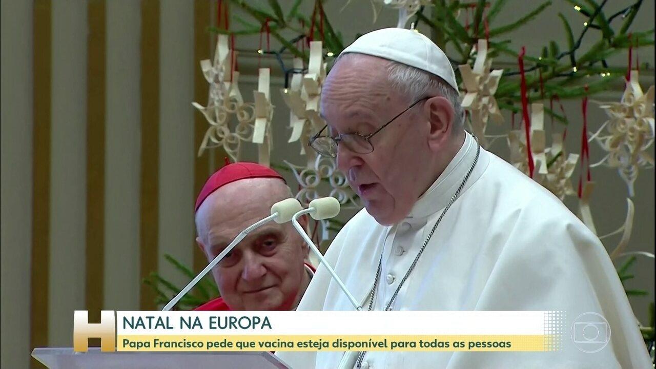Ο Πάπας Κόβιντ ζητά να είναι διαθέσιμο το εμβόλιο σε όλους