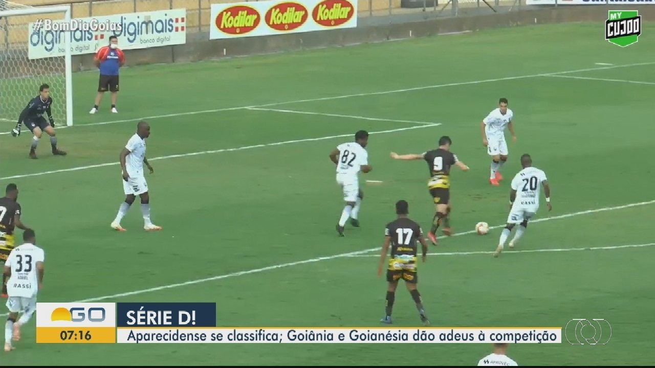 Confira os gols da Série D