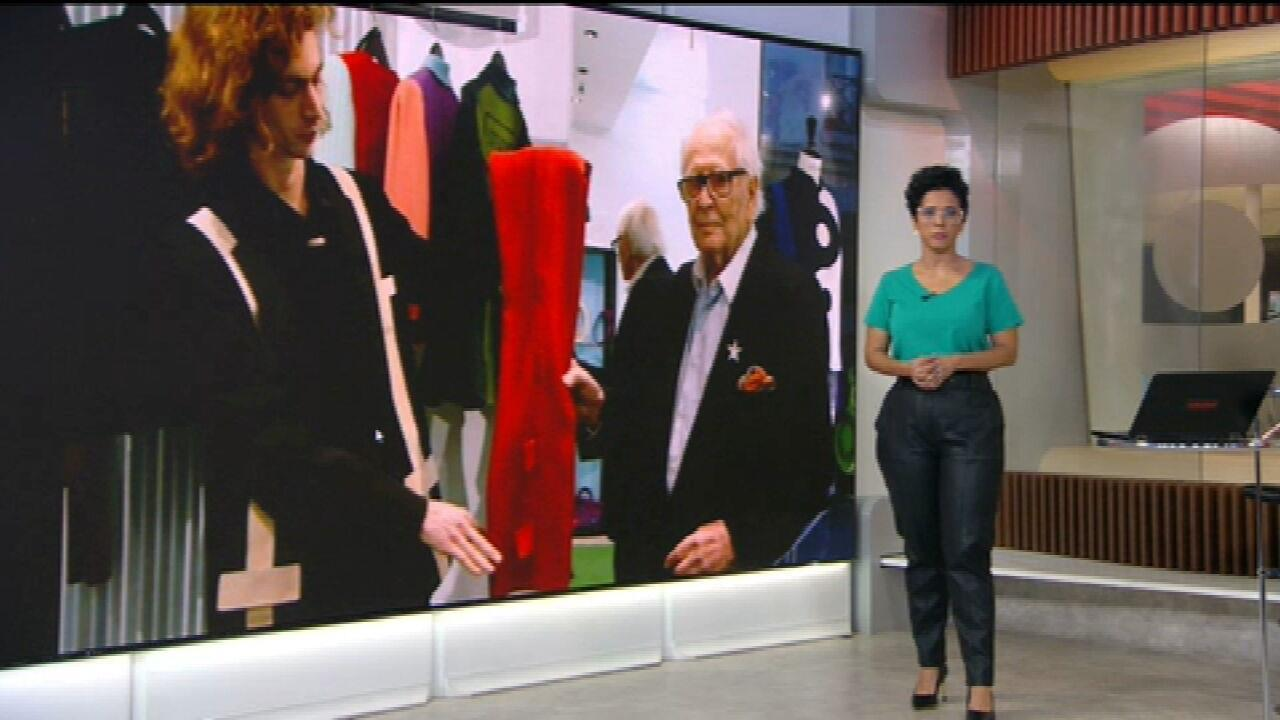 Pierre Cardin, estilista francês, morre aos 98 anos